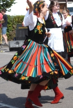 folk dance display team